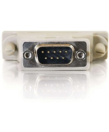 C2G Cables to Go 02450 DB9 Male to DB25 Male Serial RS232 Adapter