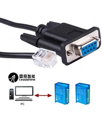 DB9 to RJ12 Control Cable for Leadshine Stepper Drive Servo Motor DM432C DM442 DM556 DM856 3DM683 AM882 DM1182