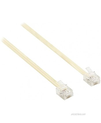 Valueline vltp90200i50Telecom to Rj11Male to RJ11Male Connector Cable 5m Ivory