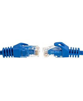 Cables Direct Online Snagless Cat5e Ethernet Network Patch Cable Blue 20 Feet