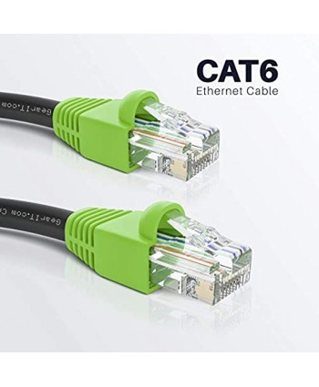 GearIT Cat6 Outdoor Ethernet Cable with CCA Copper Clad for in Wall Direct Burial 200 Feet