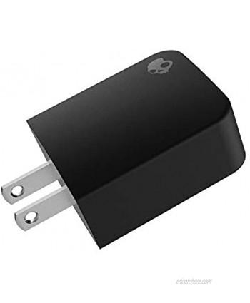 Skullcandy Fix AC Adapter with Single USB Port Black