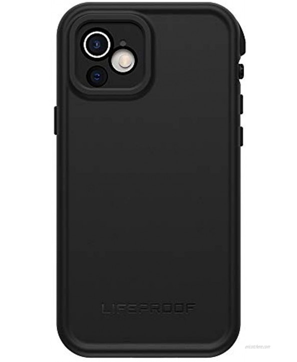 LifeProof FRE Series Waterproof Case for iPhone 12 ONLY Black