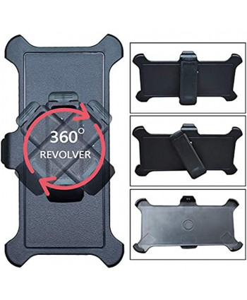 """2 Pcs Replacement Holster Belt Clip for OtterBox Defender Series Case Apple iPhone 12 iPhone 12Pro 6.1"""""""