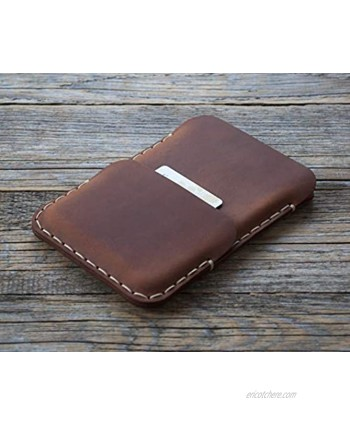 True Leather case for Microsoft Surface Duo Wallet Cover Made in Europe Brown for Duo with Original Bumper