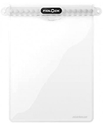 FIDLOCK Phone Dry Bag Waterproof Pouch for Cell Phone with Magnetic Closure Maxi Clear
