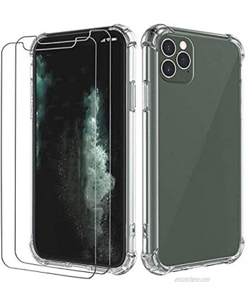 iPhone 12 Pro Max Cover Case and Screen Protector in One Pack. Screen Protector Pass 20 ft. Drop Test; High Grade Shockproof Clear Cover Full Body Protection