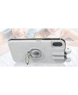 Mercch AirPod 1 & 2 Series Charging Storage case Fits iPhone 11 Pro 360° Ring Kickstand Charging Cord