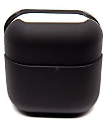 PodPocket Apple iPhone Compatible Flexible Airpods Case Protective Case Cover and Skin -Midnight Black 45 Flex
