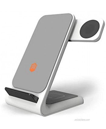 STM ChargeTree Swing 3-in-1 Charging Station for Phone AirPods Apple Watch White stm-931-323Z-01