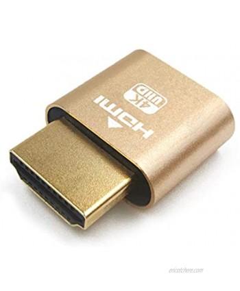 Bag lion Ap HDMI Dummy Plug Display Emulator Headless Ghost,fit Headless Dummy Display. 4K 3840x2160 New Generation@60Hz …