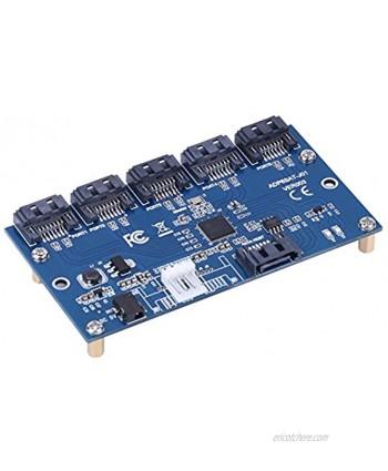 SATA 1 to 5 Port Converter SATA Converter Card Harddrive Hard Drive HDD SSD Accessory